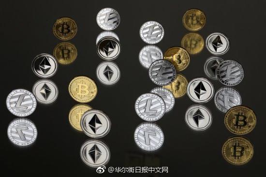 加密货币一路走低 总市值跌至年内最低水平
