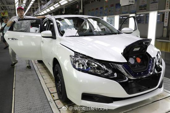 日产开始为中国市场生产首款电动汽车
