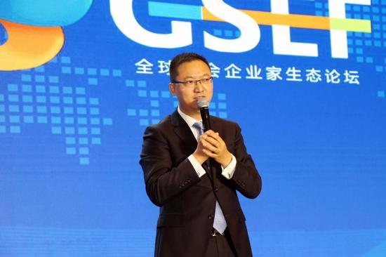 第四届全球企业家生态论坛发起人、全球社会企业家联盟联席主席、商界传媒集团总裁周忠华