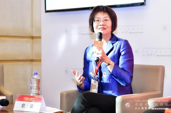 当当网联合创始人、董事长俞渝