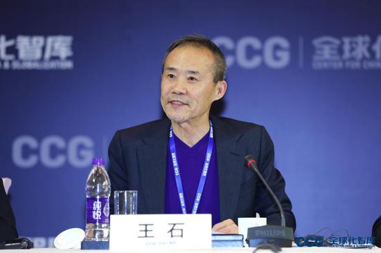 万科集团创始人,CCG资深副主席王石