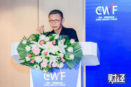 原银监会副主席蔡鄂生出席中国财富论坛