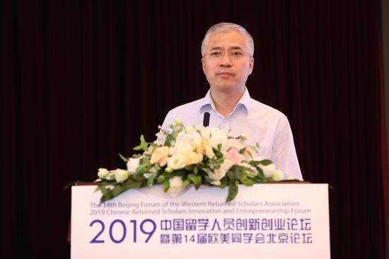 李金生:中国正处于汗青最大年夜范围的留学人员归国潮