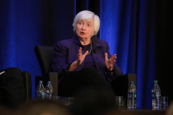 """耶伦预计美联储将""""采取更多行动"""" 确保经济处于正轨"""