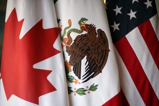 美国、加拿大和墨西哥签署美墨加