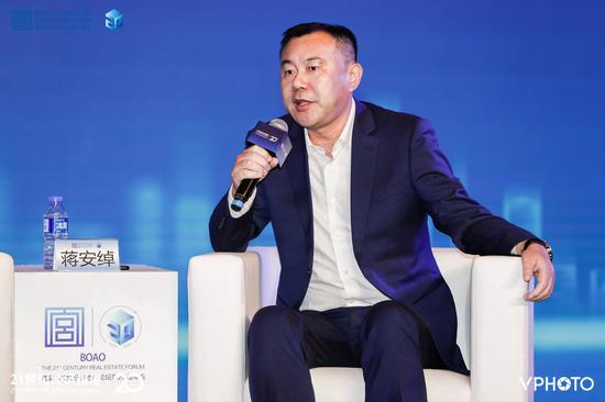 绿城小镇集团总经理蒋安绰:中国房地产市场有达到饱和的趋势