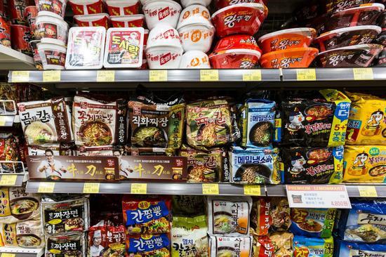 疫情下韩国食品零售业迎消费小高潮