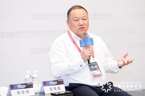 廣東華鐵通達高鐵裝備股份有限公司董事長 宣瑞國