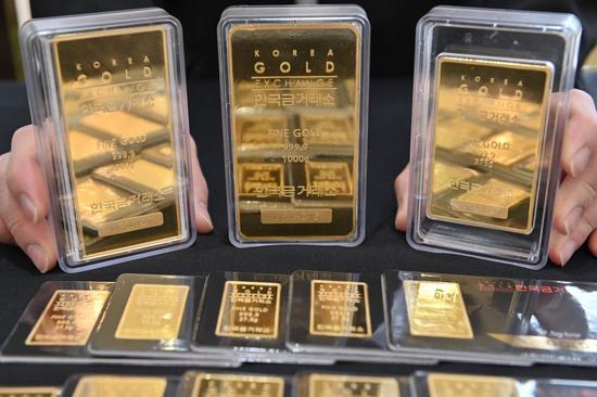 黄金期货价格周二收跌0.1%