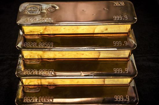 周三黄金期货收跌2.3% 白银期货跌2.2%