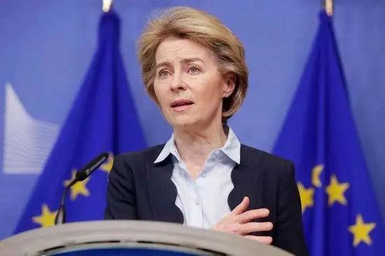欧盟委员会主席冯德莱恩呼吁美国加大疫苗出口