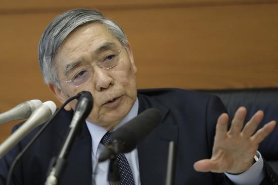 黑田东彦表示日本央行将在必要时继续积极购买ETF