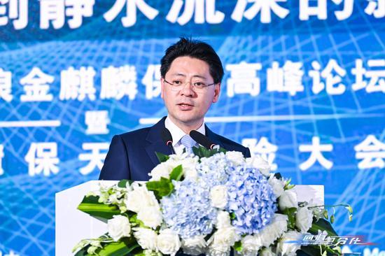 泰康保险集团总裁兼首席运营官刘挺军