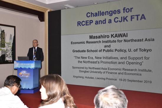 亚洲开发银行研究所原所长、日本国环日本海经济研究所所长、教授 河合正弘