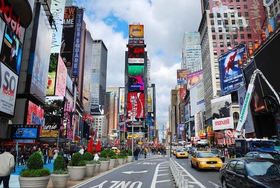 2022年全球最富城市紐約GDP將達1.8萬億美元
