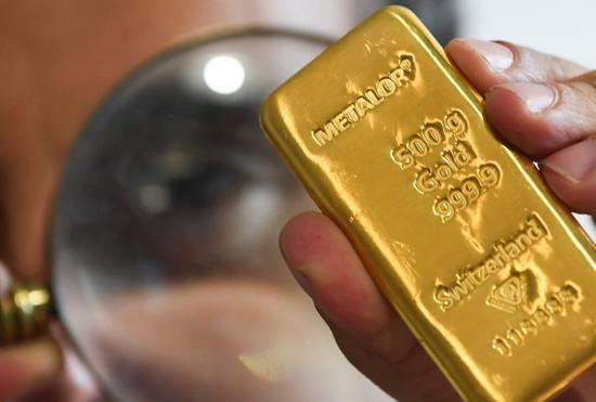 周四黄金期货收跌0.5% 白银期货收跌0.7%