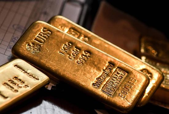 周三黄金期货收跌0.1% 5日来首次收跌