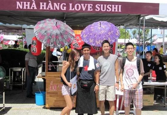 越南举办日本美食文化节