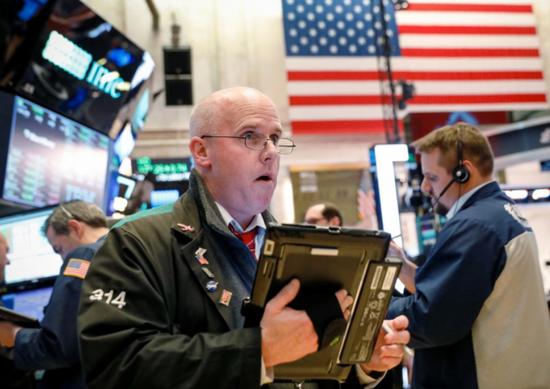 早盘:美股继续下滑 道指下跌逾100点
