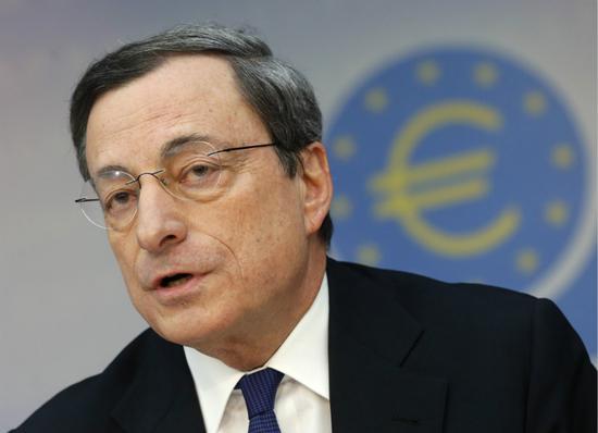 欧央行总裁德拉吉向欧盟领导人重申鸽派货币政策信息
