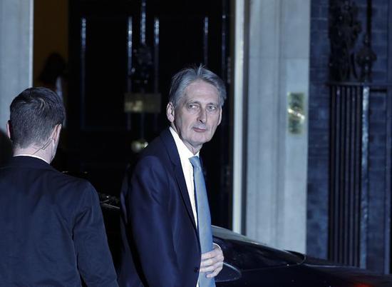 英国财政大臣将在约翰逊胜选后辞职 永不支持硬脱欧