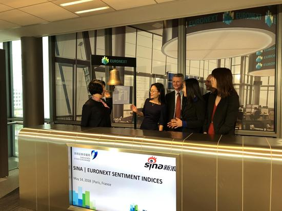 大数据选股体现金融科技创新 新浪100指数泛欧所上市