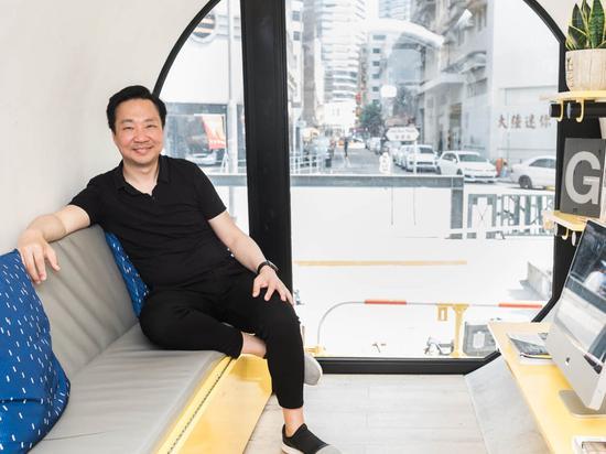 香港建筑师罗发礼和他设计的O-Pod