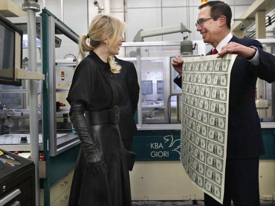 """挣钱论坛_美国财长姆努钦称在""""非常认真地考虑""""超长期债券"""