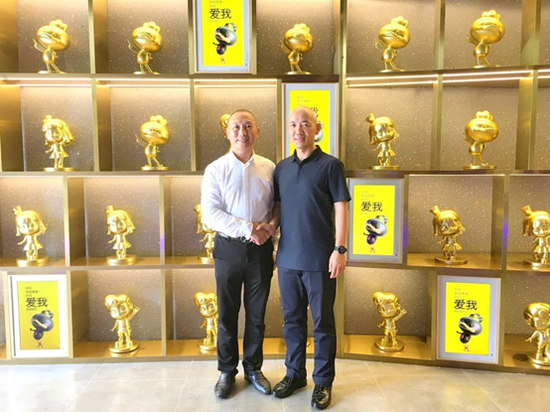 品牌联盟董事长王永拜访周黑鸭品牌创始人、董事长周富裕