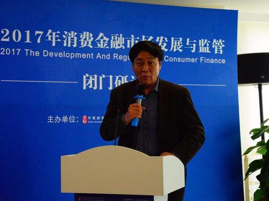 王红领谈政府在资源配置中的作用:防止出现系统性风险