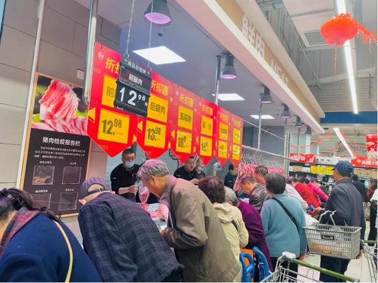 永辉上海再开新店 持续挖掘一线城市增量市场