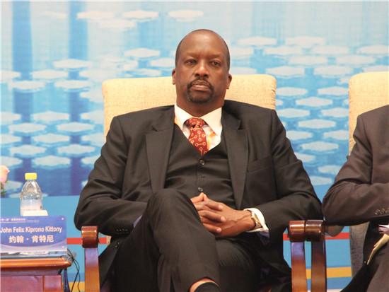 肯尼亚国家工商会主席约翰·肯特尼