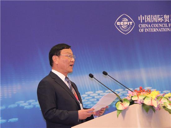 丝绸之路商务理事会中国委员会主席、中国大唐集团公司董事长陈进行
