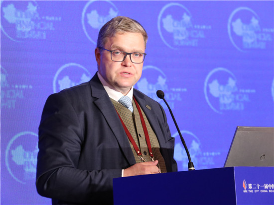 立陶宛央行董事会主席、欧洲央行管理委员会委员维塔斯•瓦西里奥斯卡斯
