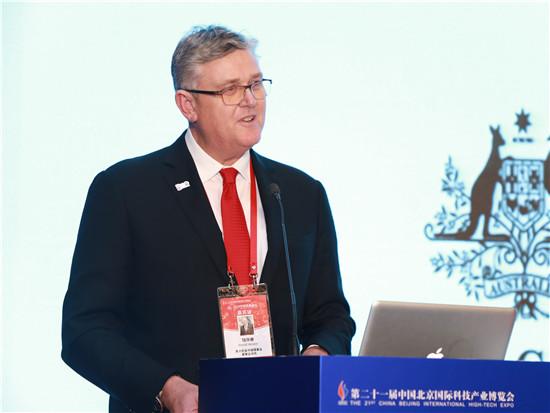 澳大利亚中国理事会董事会成员魏华德