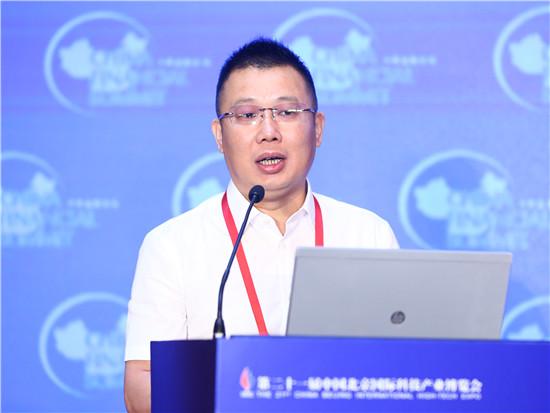 大农科技股份有限公司董事长刘健