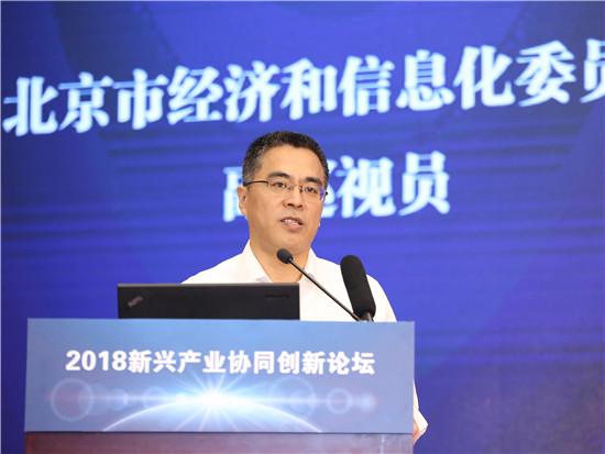 北京市经济和信息化委员会副巡视员姜广智