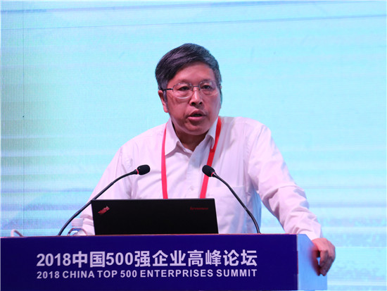 生态环境部环境规划院院长、中国工程院院士王金南