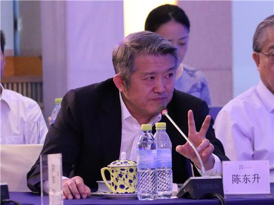 泰康保险集团创始人董事长兼首席执行官陈东升