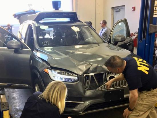 美国调查Uber自动驾驶致命车祸 缘于紧急制动被禁用自动驾驶
