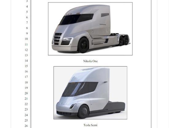 特斯拉电动卡车被控抄袭设计 遭索赔20亿美元