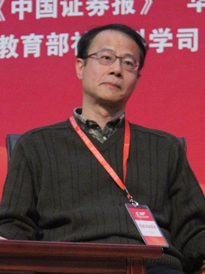 中国人民大学小微金融研究中心理事会联席主席贝多广(图片来源:新浪财经)