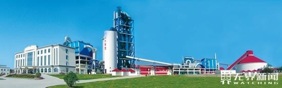 ▲山水集团-安丘日产万吨熟料基地暨2条日产5000吨熟料线
