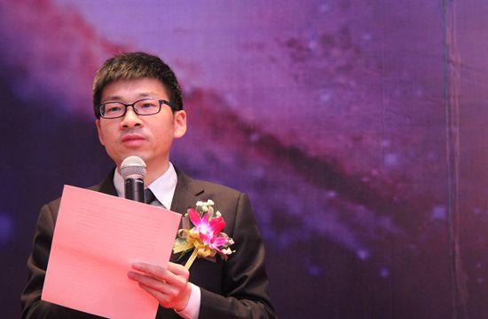 第三届(2016)中国资管精英大会于2016年3月11日至13日在深圳举行。上图为资管网总裁杨志为。。(图片来源:新浪财经 许孝如 摄)