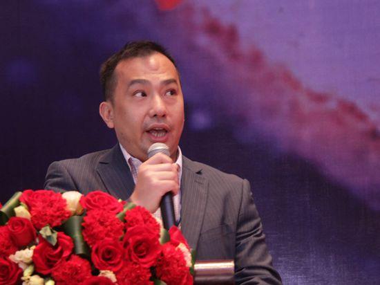 第三届(2016)中国资管精英大会于2016年3月11日至13日在深圳举行。上图为新加坡交易所国际行销总监李馥涛 。(图片来源:新浪财经 许孝如 摄)