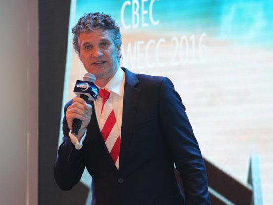 全球跨境电商联盟主席兼Payvision全球营销副总裁 Rolf Visser