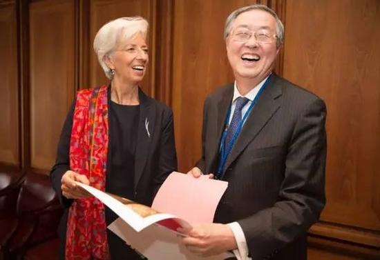 周小川在IMF年会咋成网红的?