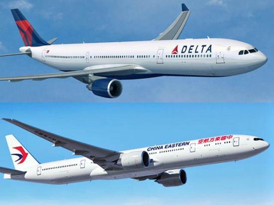 在去年获美国达美航空公司注资后,东航正寻求提高其美国航线的客流