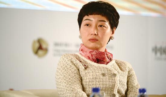 中国前首富黄光裕妻子杜鹃。图片来源 时代周报