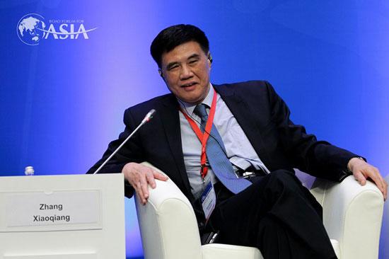 中国国家发改委原副主任、中国国际经济交流中心常务副理事长张晓强